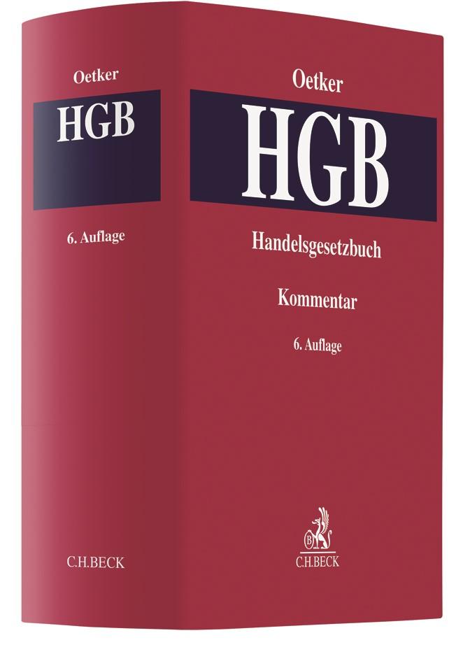 Handelsgesetzbuch: HGB | Oetker | 6. Auflage, 2019 | Buch (Cover)