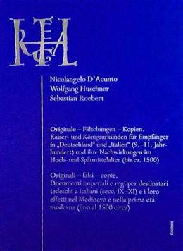 Abbildung von D'Acunto / Huschner   Originale - Fälschungen - Kopien / Originali - falsi - copie.   1. Auflage   2018   beck-shop.de