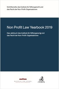 Non Profit Law Yearbook, 2018 (Cover)