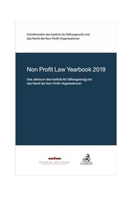 Abbildung von Non Profit Law Yearbook   1. Auflage   2019   beck-shop.de