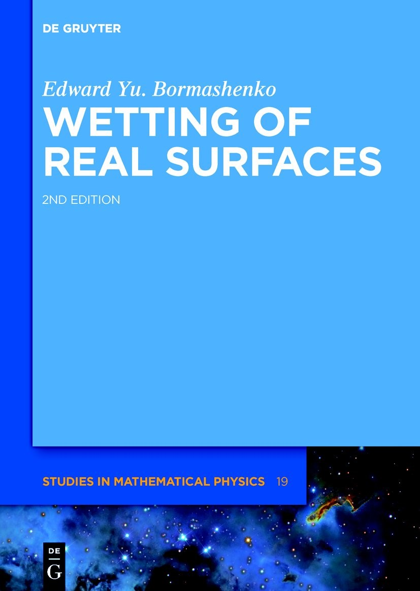 Wetting of Real Surfaces | Bormashenko, 2018 | Buch (Cover)