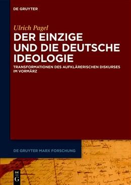 Abbildung von Pagel   Der Einzige und die Deutsche Ideologie   1. Auflage   2019   beck-shop.de