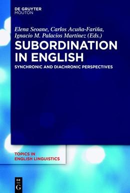 Abbildung von Seoane / Acuña-Fariña | Subordination in English | 1. Auflage | 2018 | 101 | beck-shop.de