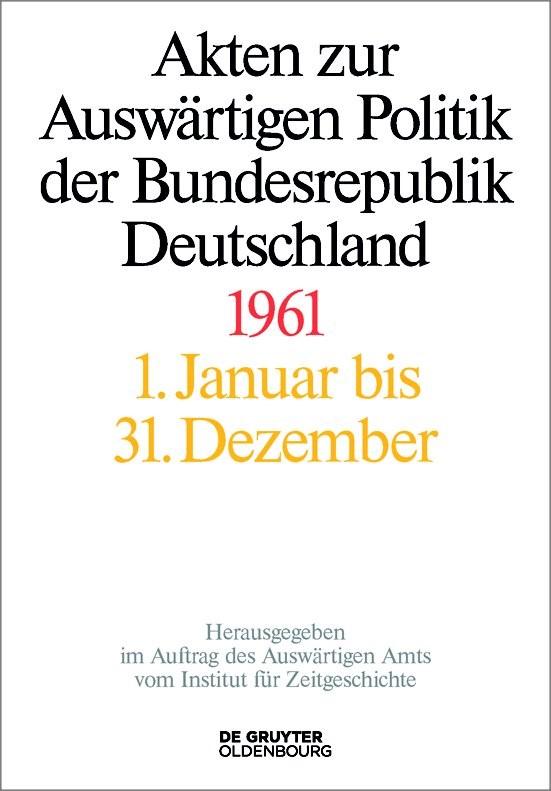 1961 | Lindemann / Franzen | 3 part vols., 2018 | Buch (Cover)