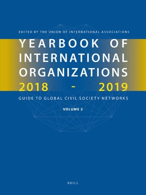 Yearbook of International Organizations 2018-2019, Volume 2, 2018 | Buch (Cover)