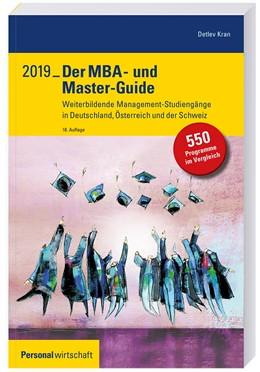 Abbildung von Kran | Der MBA- und Master-Guide 2019 | 18. Auflage | 2018