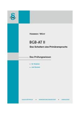 Abbildung von Hemmer / Wüst | BGB AT II | 15. Auflage | 2018 | beck-shop.de