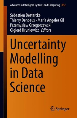 Abbildung von Destercke / Denoeux | Uncertainty Modelling in Data Science | 1. Auflage | 2018 | 832 | beck-shop.de
