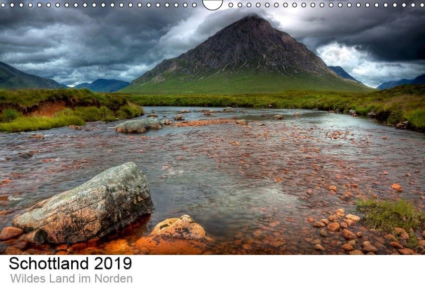 Schottland 2019 - Wildes Land im Norden (Wandkalender 2019 DIN A3 quer) | Kalender365. Com | 5. Edition 2018, 2018 (Cover)