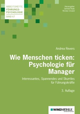 Abbildung von Crisand / Raab | Wie Menschen ticken: Psychologie für Manager | 3. Auflage | 2018 | beck-shop.de