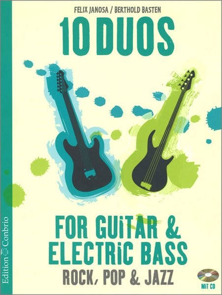 10 Duos for Guitar & Electric Bass, 2016 (Cover)