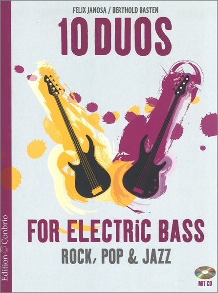 10 Duos for Electric Bass, 2016 (Cover)
