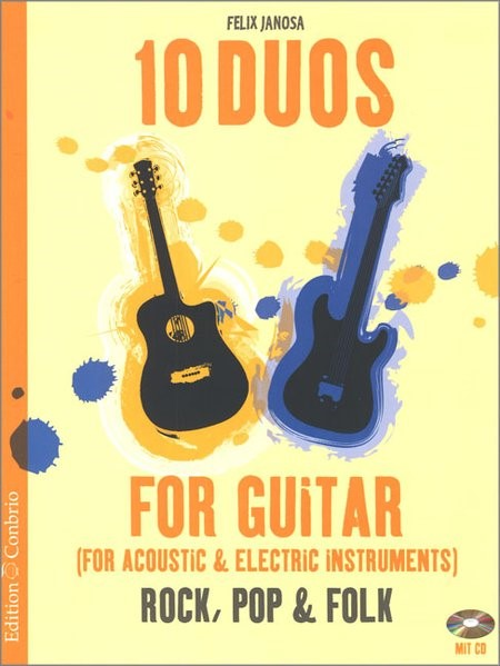 10 Duos for Acoustic & Electric Guitar, 2016 (Cover)