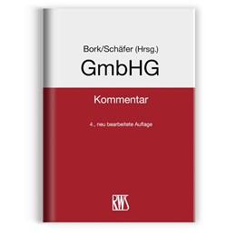 Abbildung von Bork / Schäfer (Hrsg.) | GmbHG | 4. Auflage | 2019 | beck-shop.de