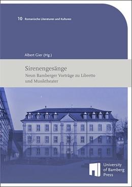 Abbildung von Gier | Sirenengesänge | 2018 | Neun Bamberger Vorträge zu Lib...
