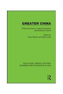 Abbildung von Rowley / Lewis | Greater China | 1. Auflage | 2018 | 15 | beck-shop.de