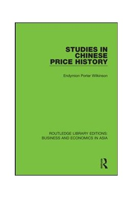 Abbildung von Wilkinson | Studies in Chinese Price History | 2018 | 31