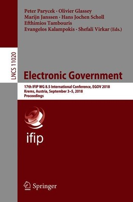 Abbildung von Parycek / Glassey | Electronic Government | 1. Auflage | 2018 | beck-shop.de