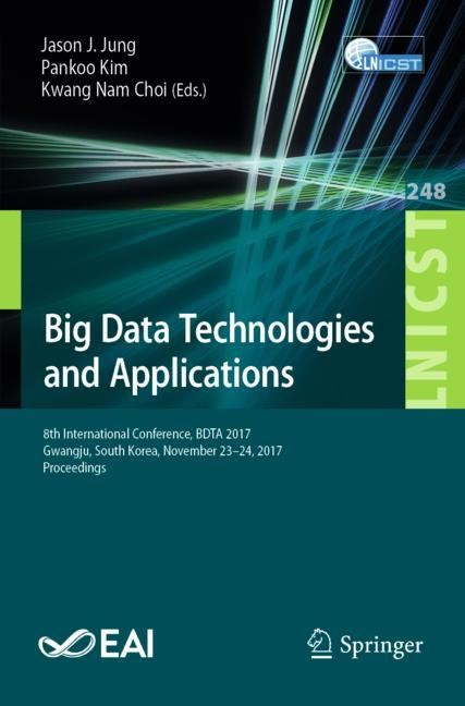 Big Data Technologies and Applications | Jung / Kim / Choi | 1st ed. 2018, 2018 | Buch (Cover)