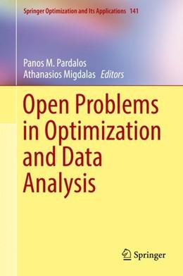 Abbildung von Pardalos / Migdalas | Open Problems in Optimization and Data Analysis | 1. Auflage | 2018 | 141 | beck-shop.de