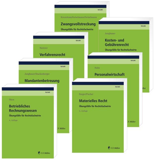 ReFaWi - Übungsfälle | Jungbauer (Hrsg.) | 6., neu bearbeitete Auflage, 2018 | Buch (Cover)