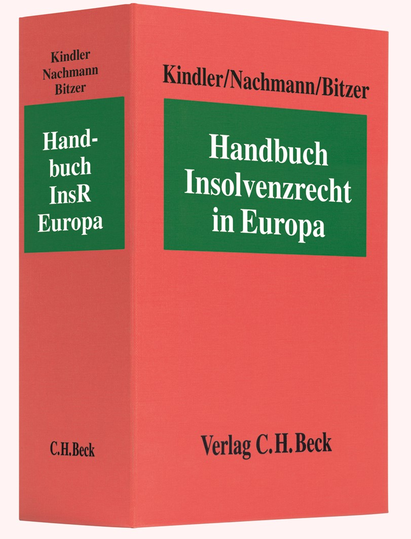Handbuch Insolvenzrecht in Europa: Handbuch InsR Europa | Kindler / Nachmann | 4. Auflage (Cover)
