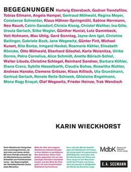 Abbildung von Weidinger | Karin Wieckhorst. Begegnungen | 1. Auflage | 2018 | beck-shop.de