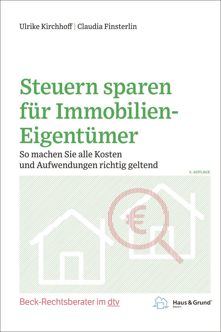 Steuern sparen für Immobilien-Eigentümer | Kirchhoff / Finsterlin | 3. Auflage, 2019 | Buch (Cover)