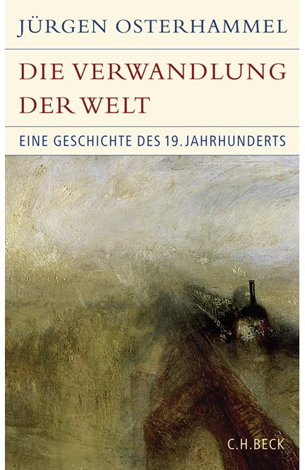 Cover: Jürgen Osterhammel, Die Verwandlung der Welt