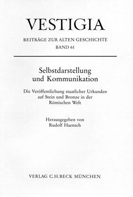 Abbildung von Haensch, Rudolf | Selbstdarstellung und Kommunikation | 1. Auflage | 2009 | 61 | beck-shop.de