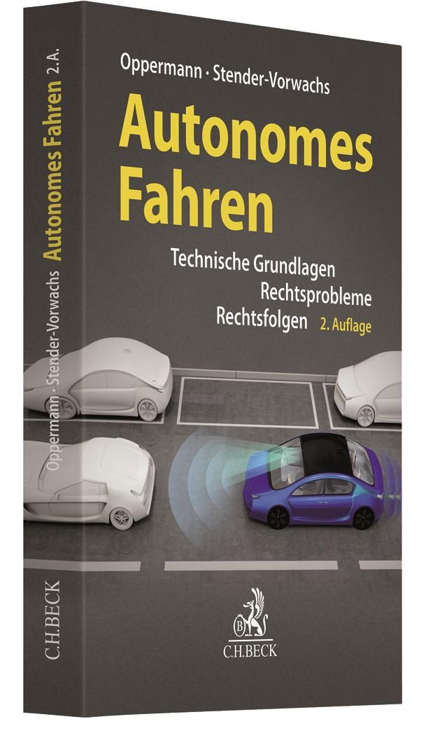 Autonomes Fahren   Oppermann / Stender-Vorwachs   2. Auflage, 2019   Buch (Cover)