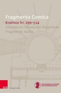 FrC 3.6 Kratinos   Olson / Seaberg   Aufl., 2018   Buch (Cover)