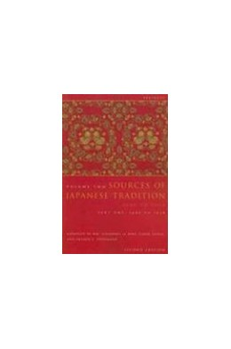 Abbildung von Bary / Gluck / Tiedemann | Sources of Japanese Tradition, Abridged | second edition | 2006 | 1600 to 2000; Part 2: 1868 to ...