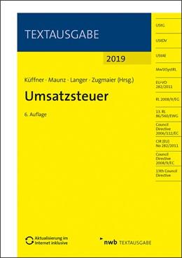 Abbildung von Küffner / Maunz / Langer / Zugmaier (Hrsg.) | Umsatzsteuer | 6. Auflage Aktualisierung im Internet inklusive | 2019