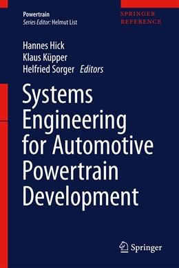 Abbildung von Hick / Küpper | Systems Engineering for Automotive Powertrain Development | 1. Auflage | 2021 | beck-shop.de