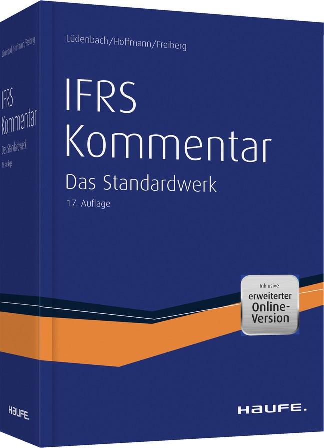 Haufe IFRS-Kommentar | Lüdenbach / Hoffmann / Freiberg | 17. Auflage, 2019 (Cover)