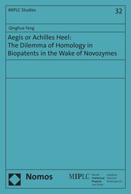 Abbildung von Yang | Aegis or Achilles Heel: The Dilemma of Homology in Biopatents in the Wake of Novozymes | 2018