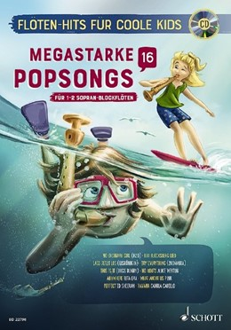 Abbildung von Megastarke Popsongs | 2019 | Band 16. 1-2 Sopran-Blockflöte...