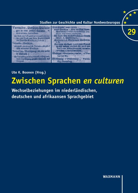 Zwischen Sprachen en culturen | Boonen, 2018 | Buch (Cover)