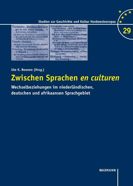 Abbildung von Boonen | Zwischen Sprachen en culturen | 2018