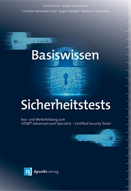 Abbildung von Simon / Großmann | Basiswissen Sicherheitstests | 1. Auflage | 2019 | beck-shop.de