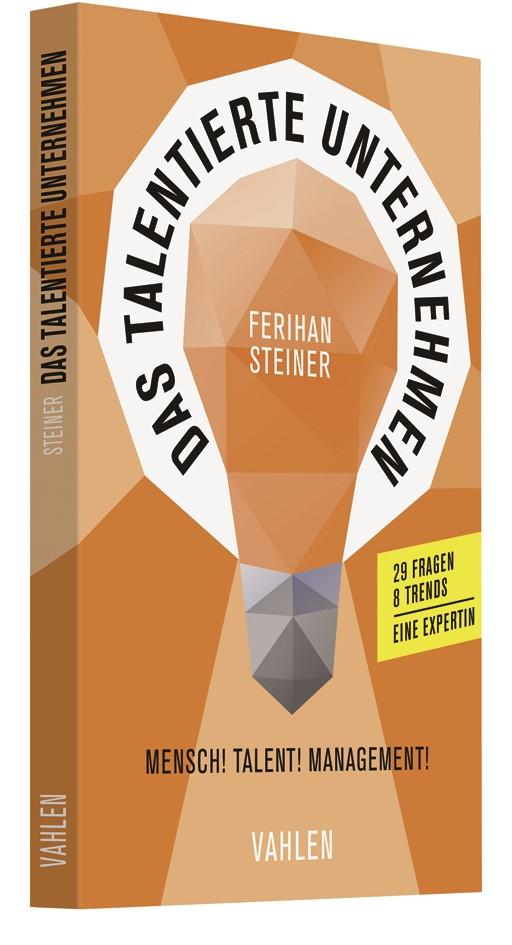 Das talentierte Unternehmen   Steiner, 2019   Buch (Cover)