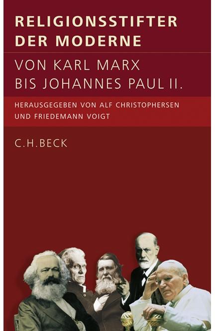 Cover: , Religionsstifter der Moderne