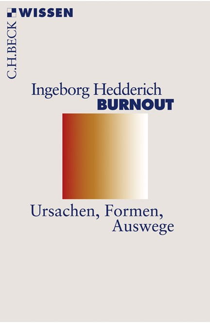 Cover: Ingeborg Hedderich, Burnout