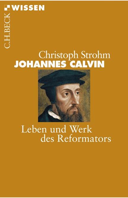 Cover: Christoph Strohm, Johannes Calvin