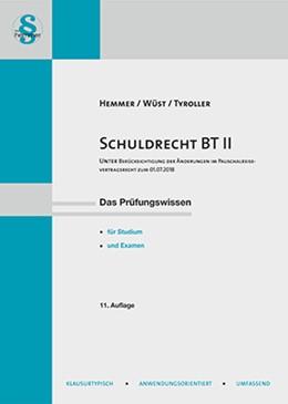 Abbildung von Hemmer / Wüst | Schuldrecht BT II | 11. Auflage | 2018 | beck-shop.de