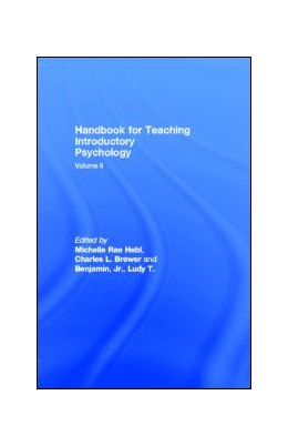 Abbildung von Hebl | Handbook for Teaching Introductory Psychology | 2001 | Volume Ii