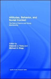 Abbildung von Terry | Attitudes, Behavior, and Social Context | 1999