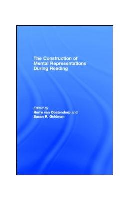 Abbildung von Oostendorp / Goldman | The Construction of Mental Representations During Reading | 1998
