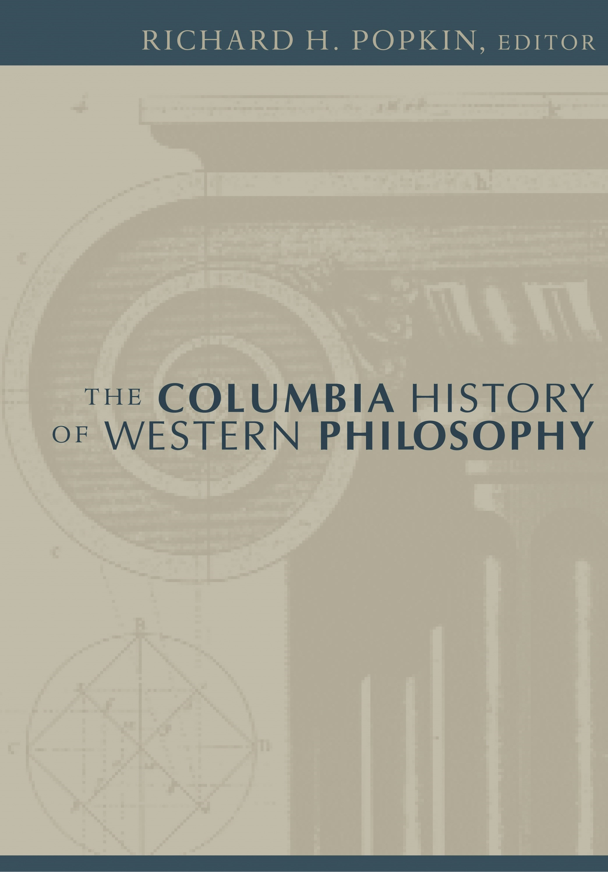 Abbildung von Popkin | The Columbia History of Western Philosophy | 2006